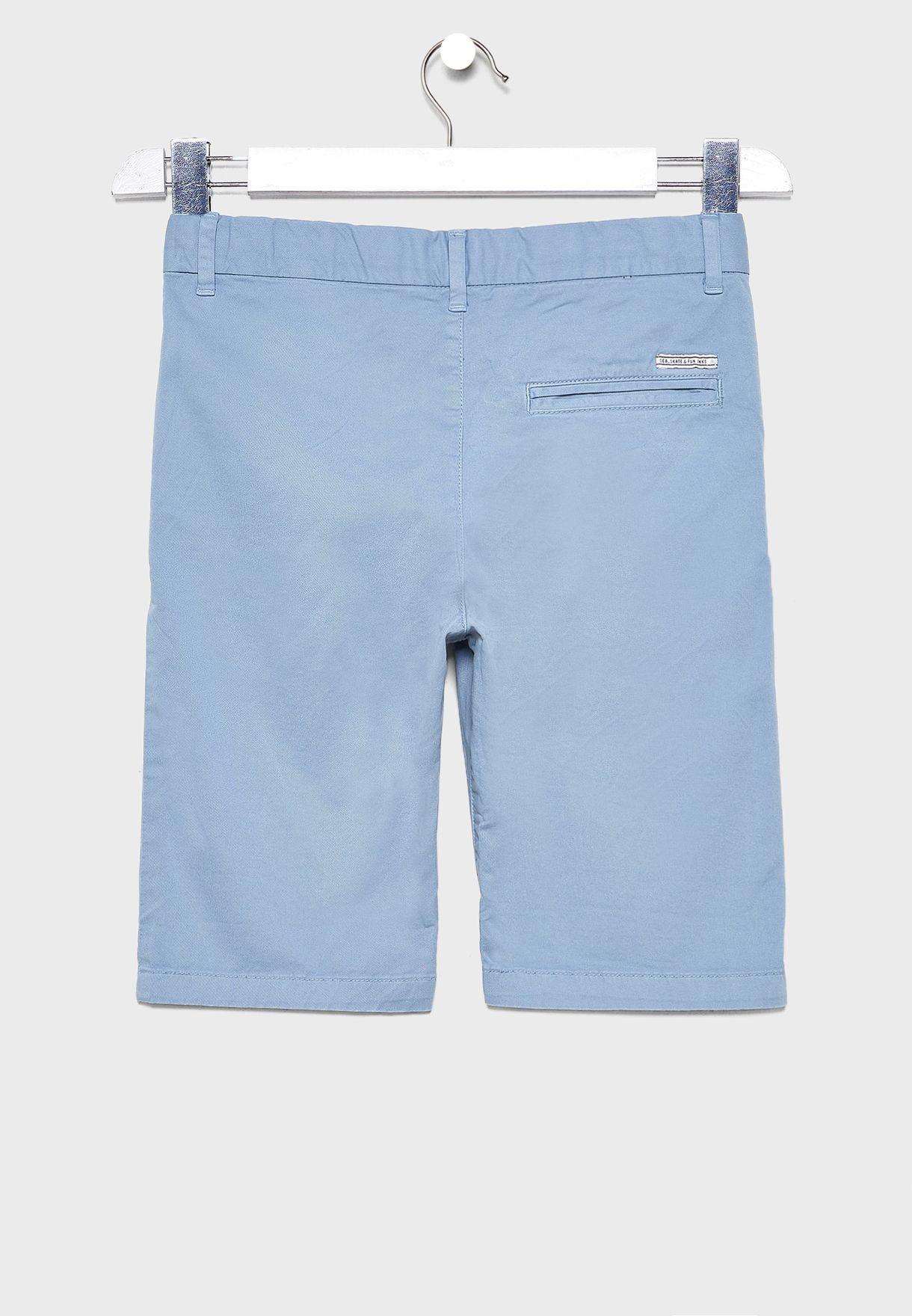 Youth Folded Hem Shorts