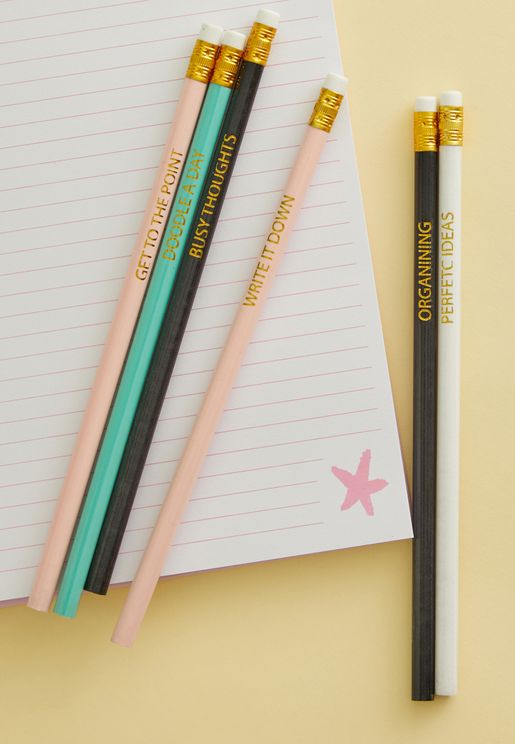 Multipack Inscripted Pencil Set