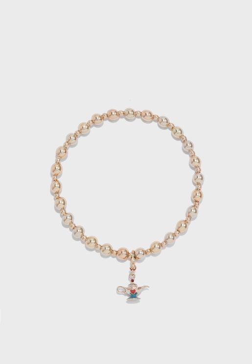 Lamp Charm Bracelet