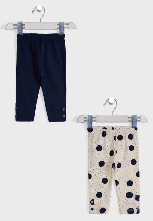 2 In 1 Printed Pyjama Bottoms