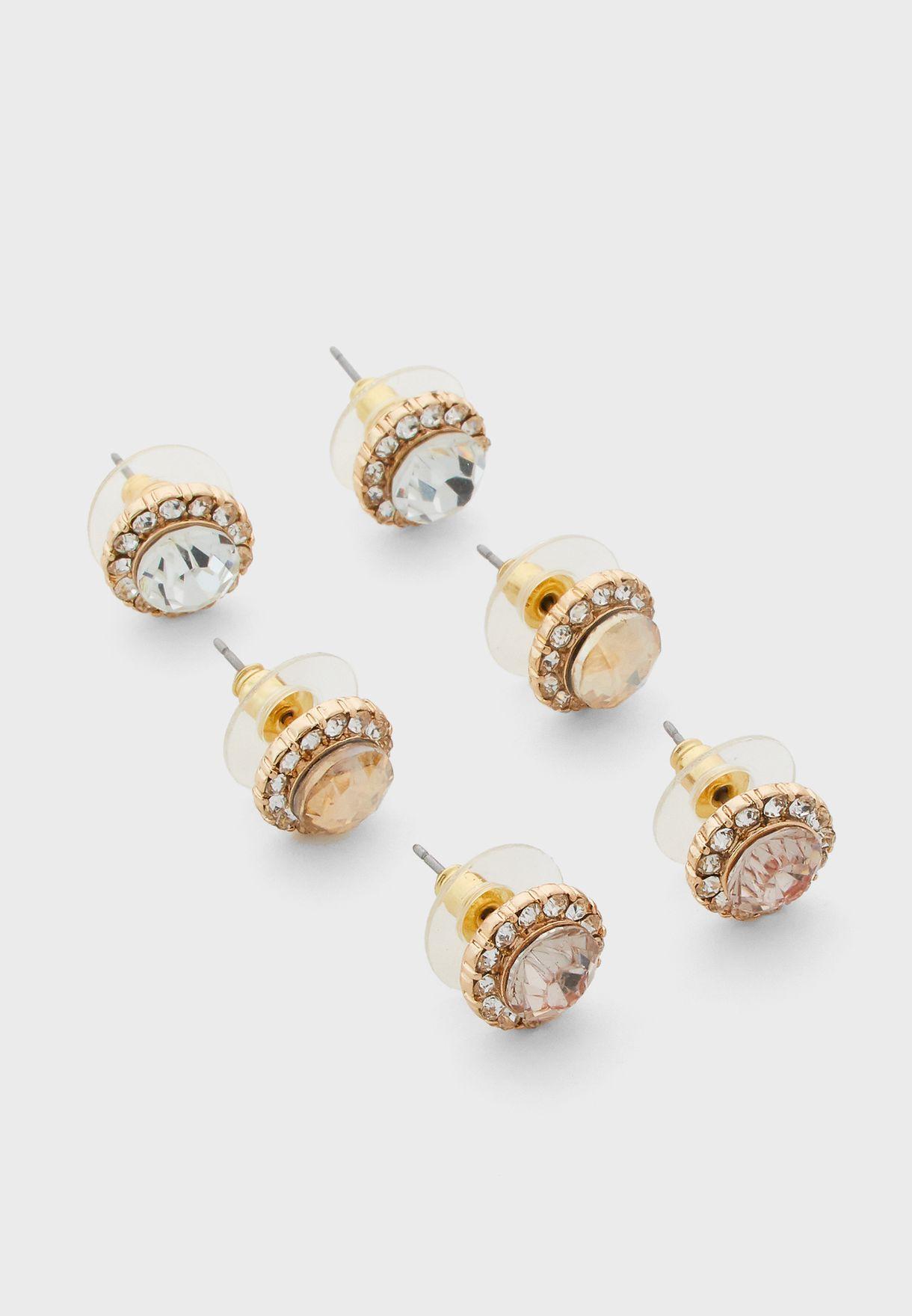 Gwosa Pierced Earrings Set