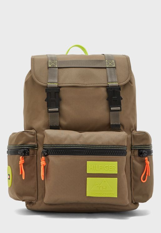 Outdoor Flap Backpack