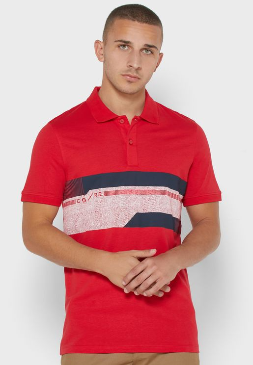 Monaco Colour Block Polo