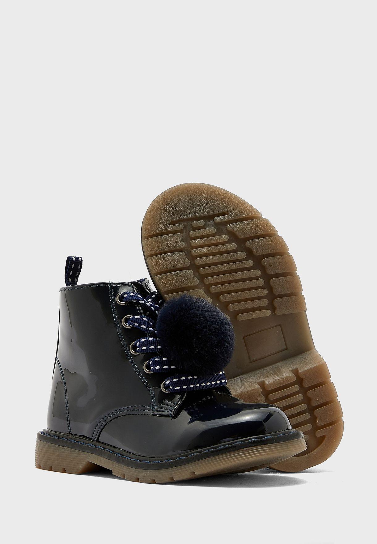 Kids Pom Pom Sneaker