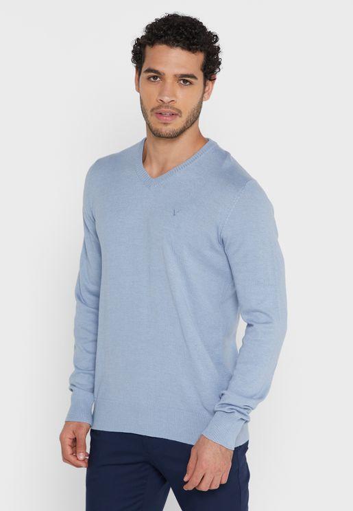 Essential V- Neck Sweater