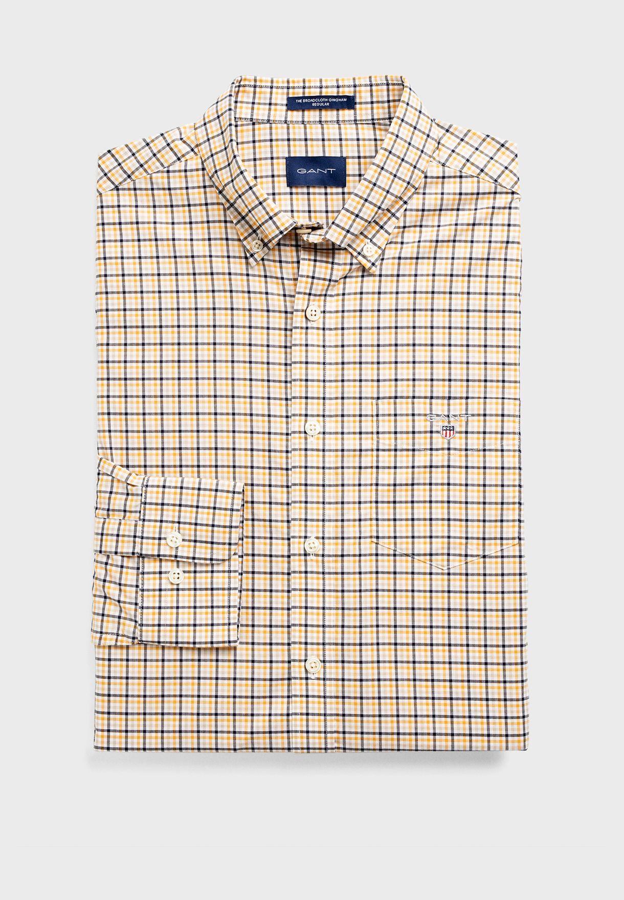 The Broadcloth Regular Fit Shirt