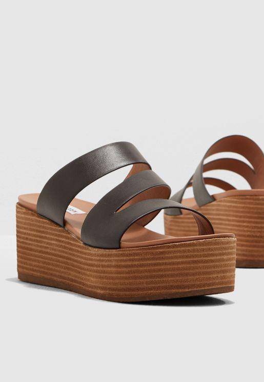 Hally Wedge Sandal