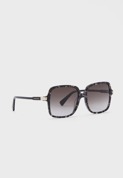 Lo641S Square Sunglasses