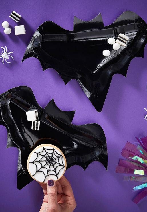 Bat Plates 6 Pack