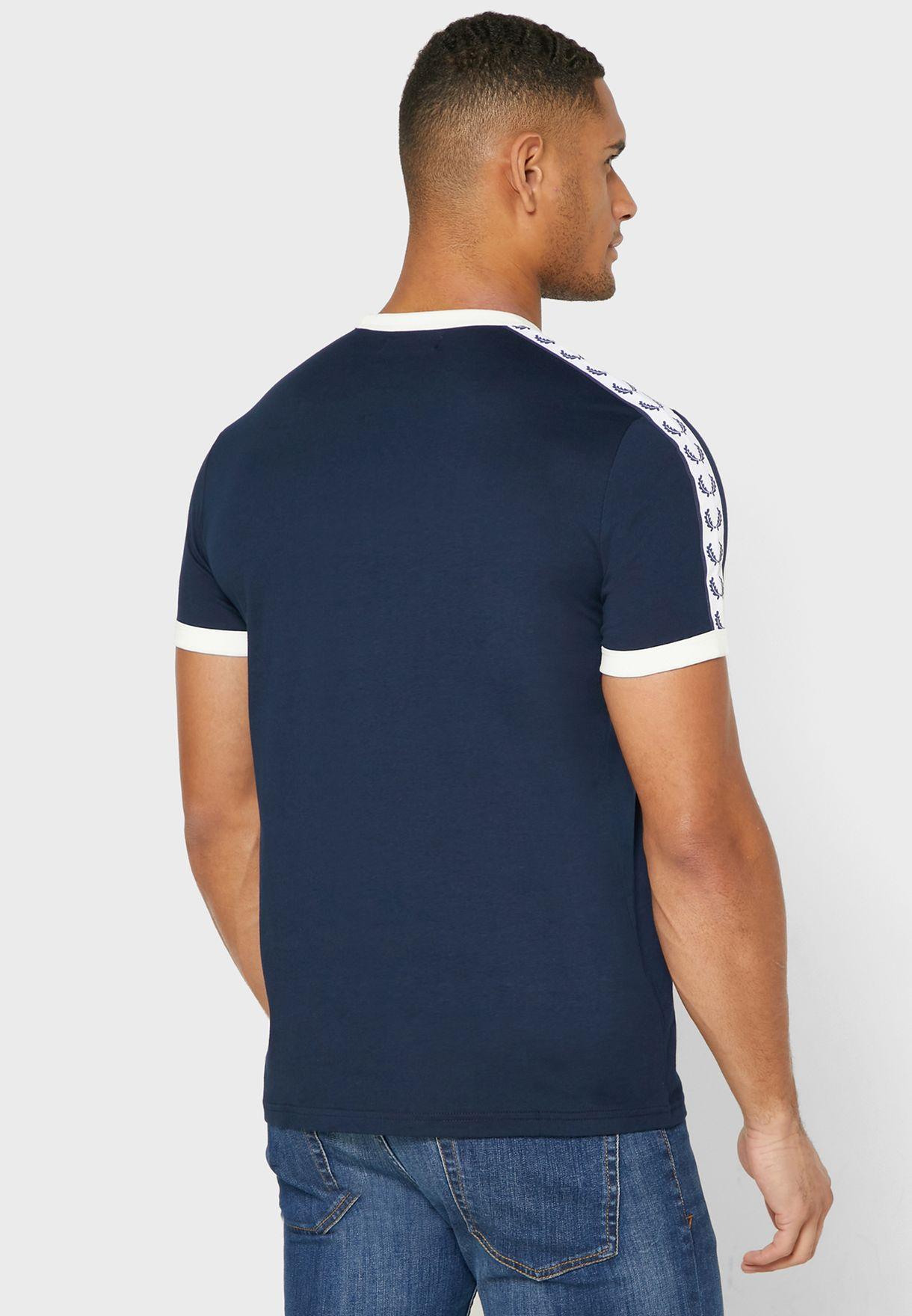 Ringer Crew Neck T-Shirt