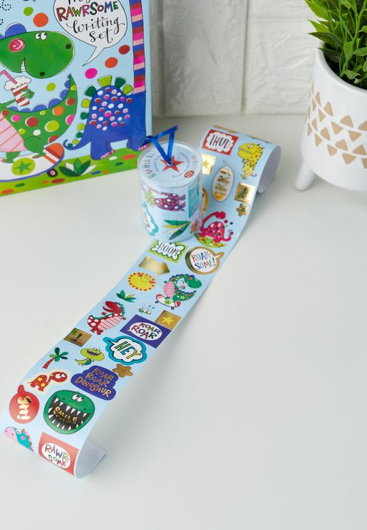 Dinosaur Rolls Of Stickers