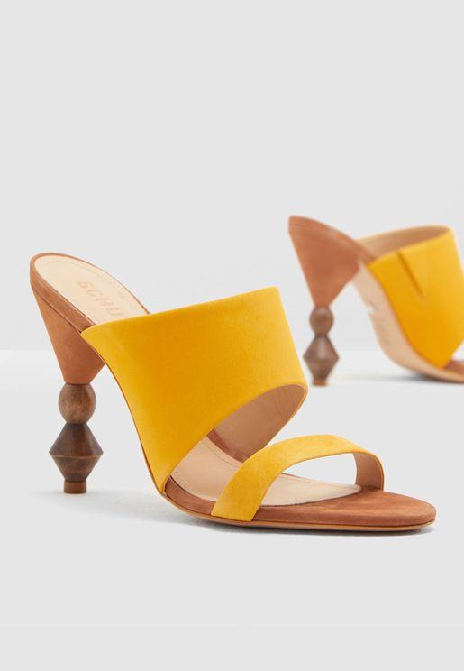 Double Strap Heel Sandal