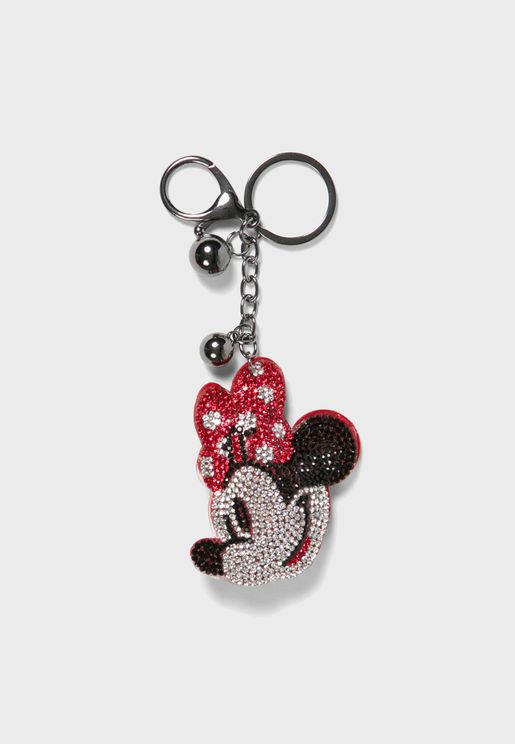 Kids Minnie Mouse Keyring