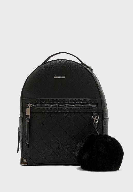 Darmera Front Zip Pocket Backpack