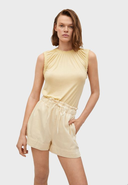 Sleeveless Casual T-Shirt
