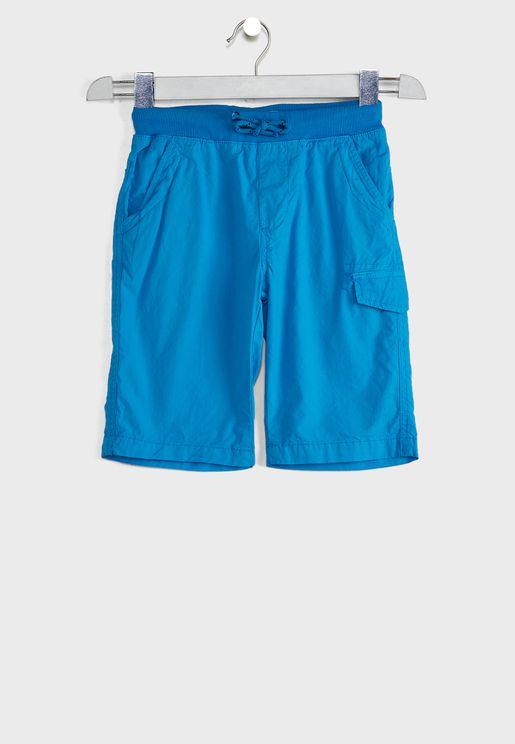 Teen Basic Poplin Shorts