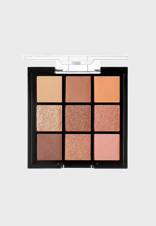 9 Shade Eyeshadow Palette - Rose Golds