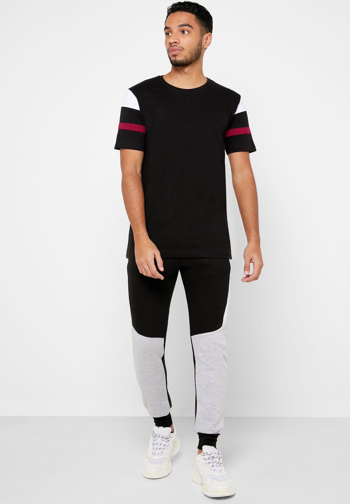 Arm Stripe T-Shirt