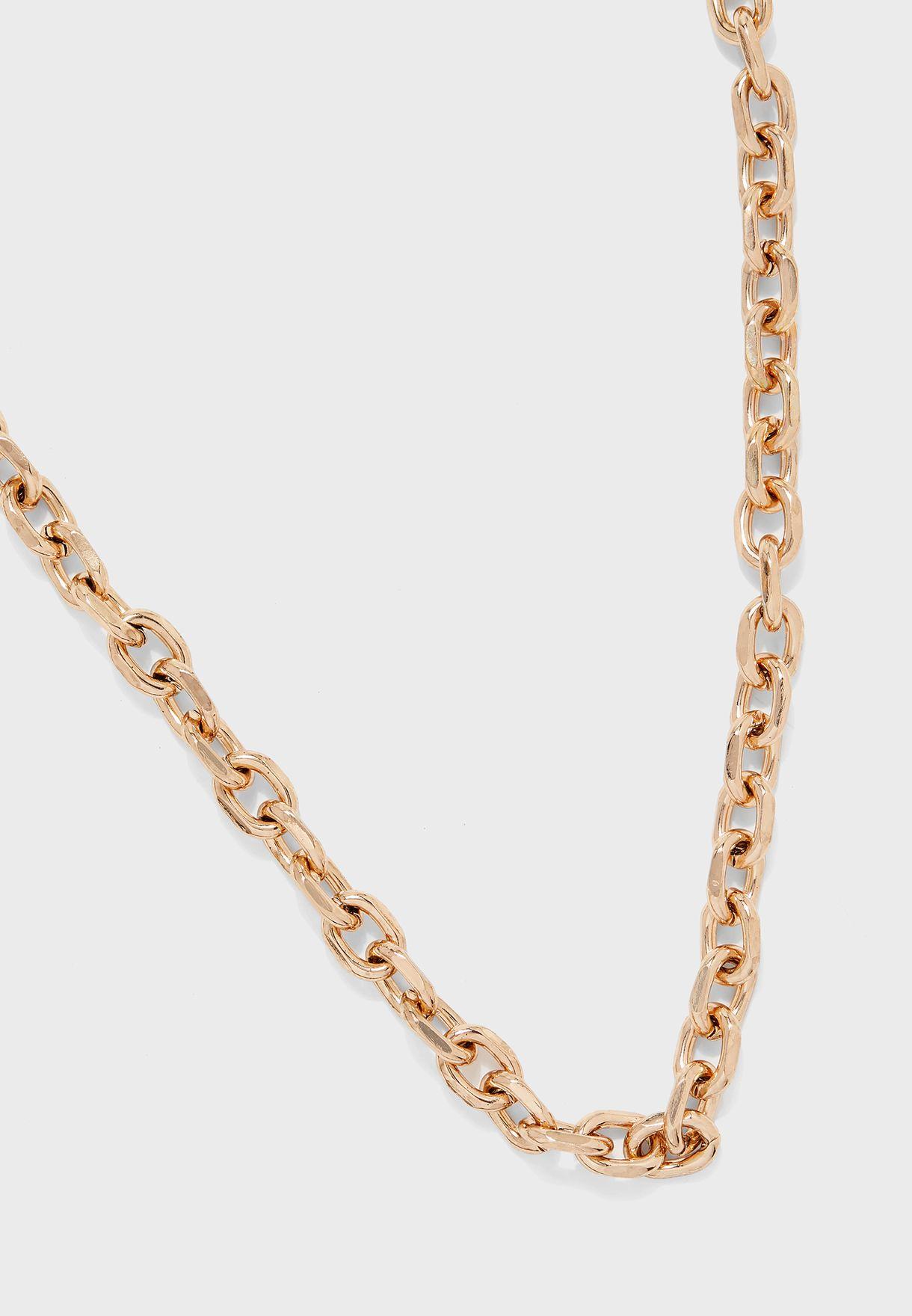 Break N Enter Chain Necklace