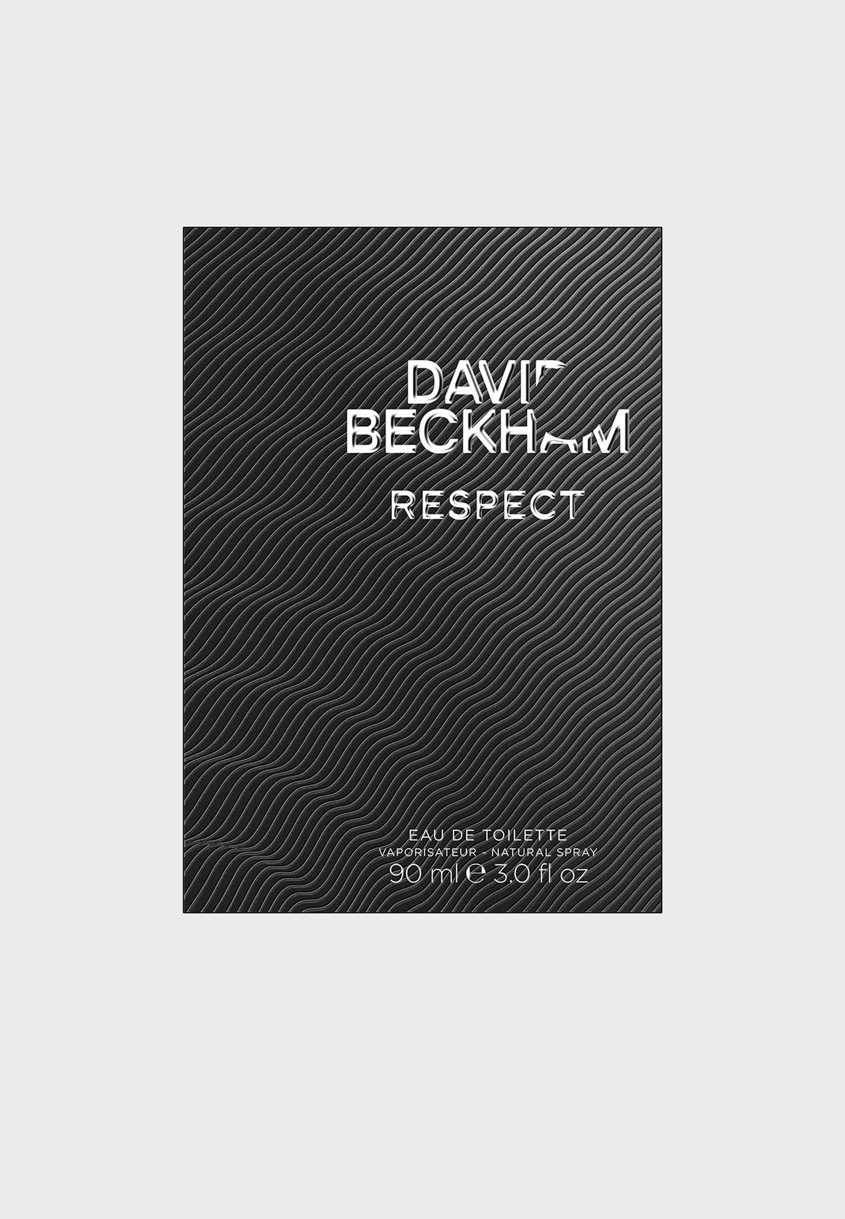 David Beckham, Respect, Eau de Toilette for him, 90 ml