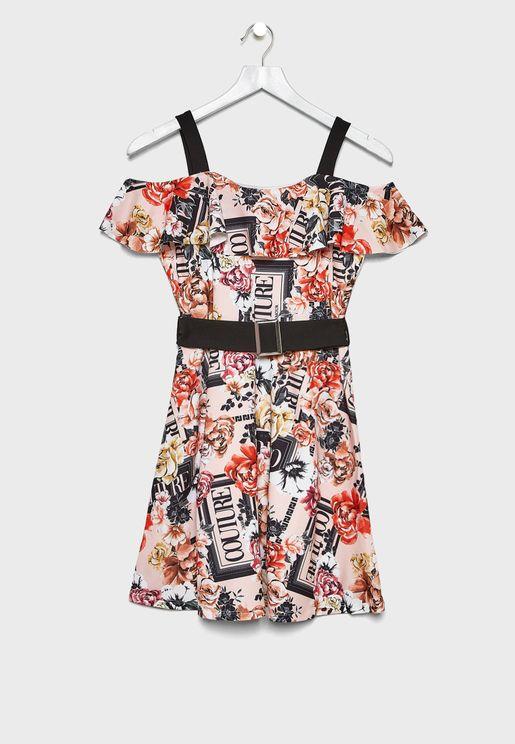 Kids Maisie Bardot Dress