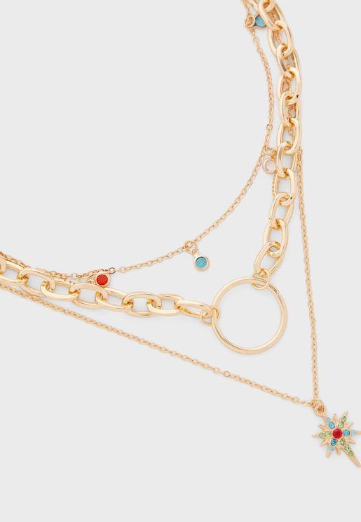 Emilie 3-Pack Layered Necklace