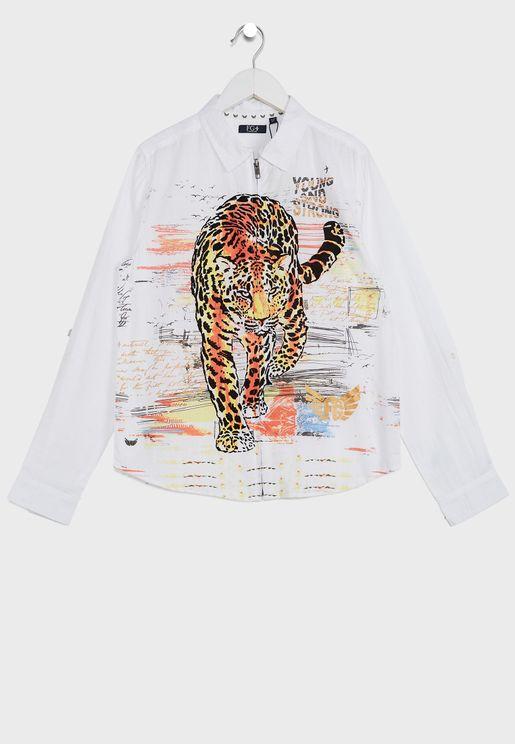 Youth Hawkes Shirt