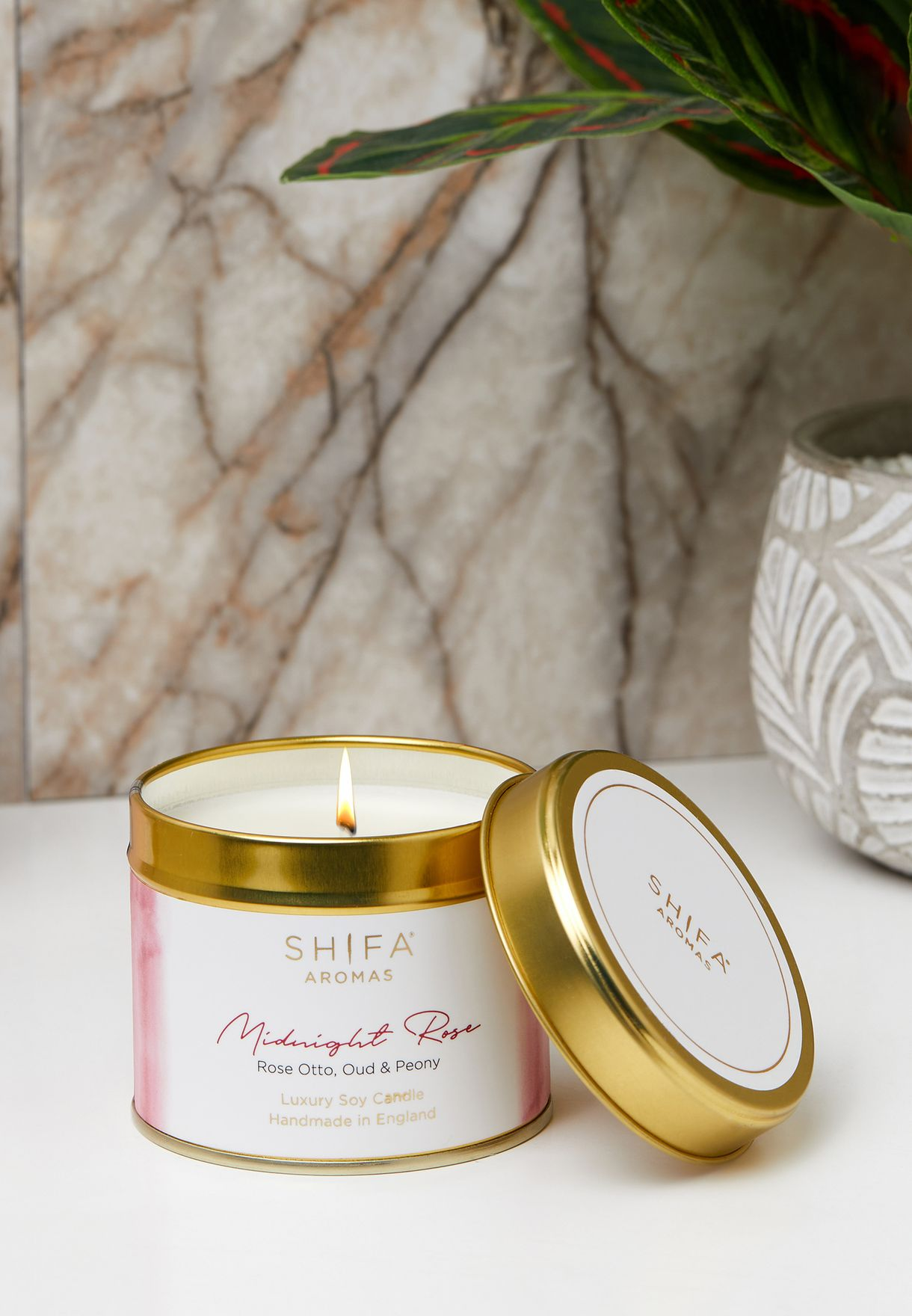 Rose Otto, Oud & Peony Candle 200g