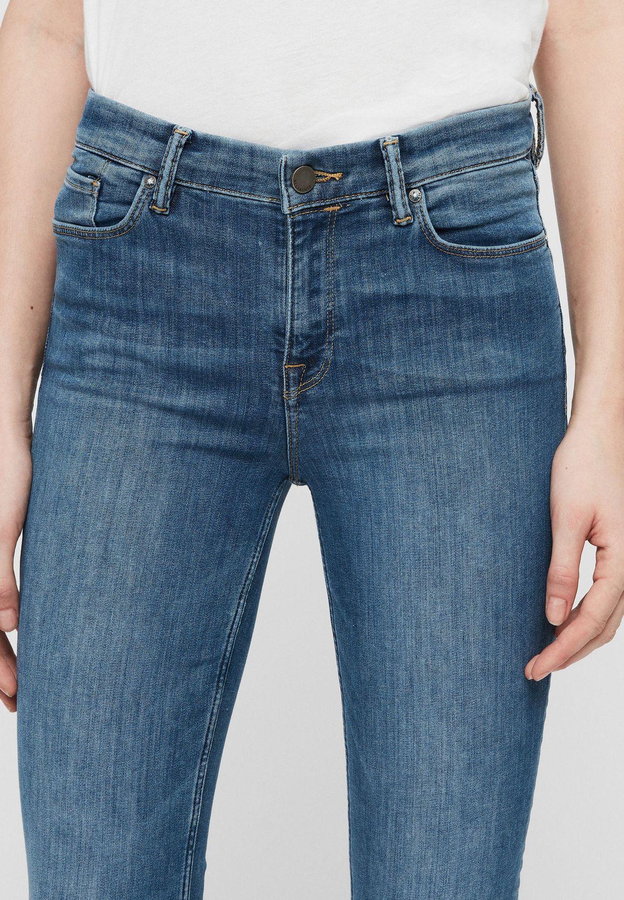 Grace Mid Rise Skinny Jeans