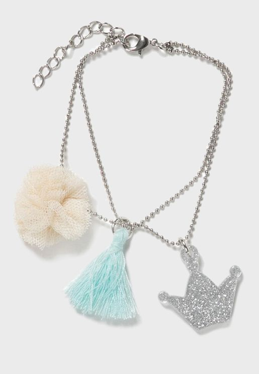 Kids Glitter Necklaces