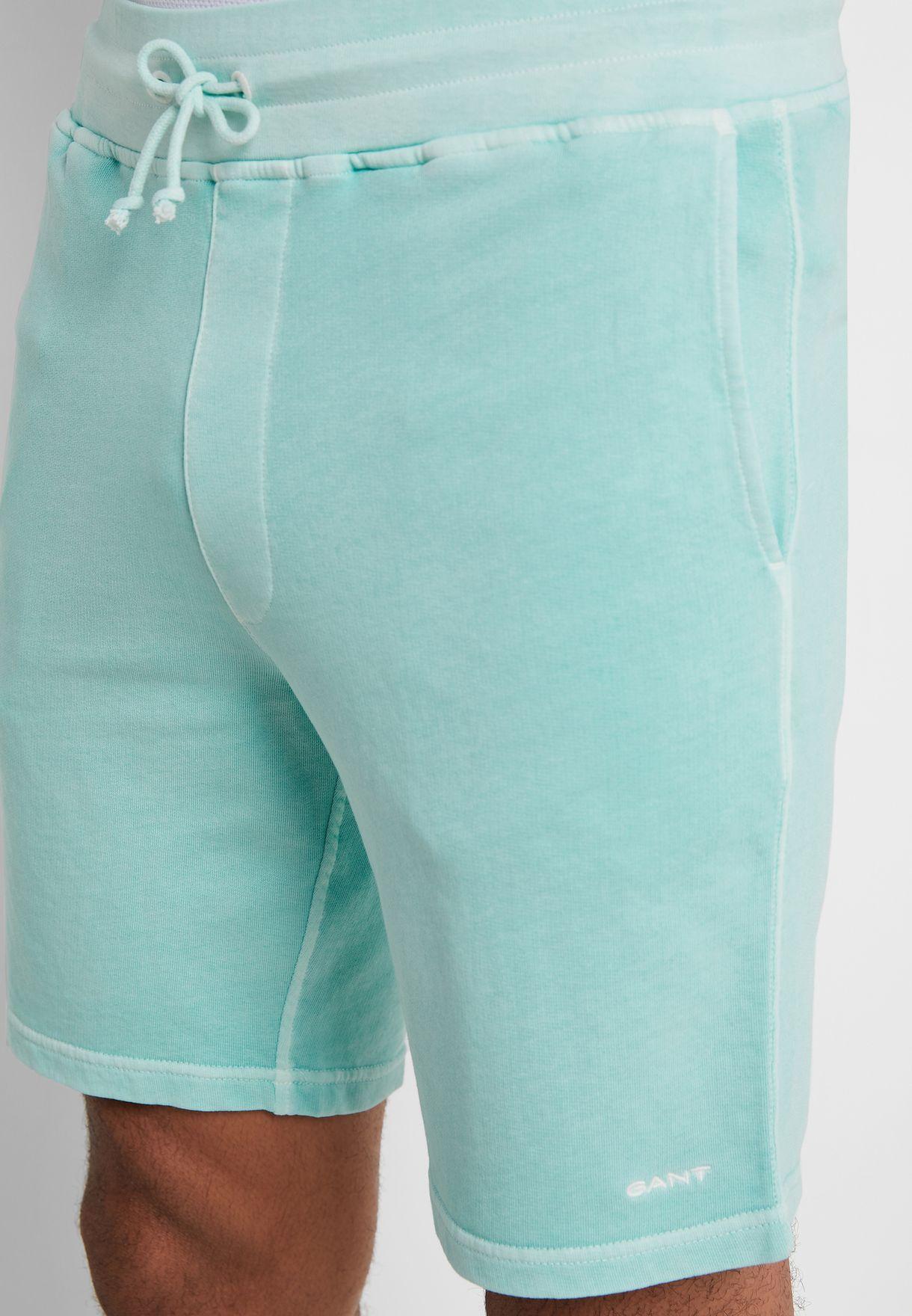 Sunbleached  Elastic Waist Shorts