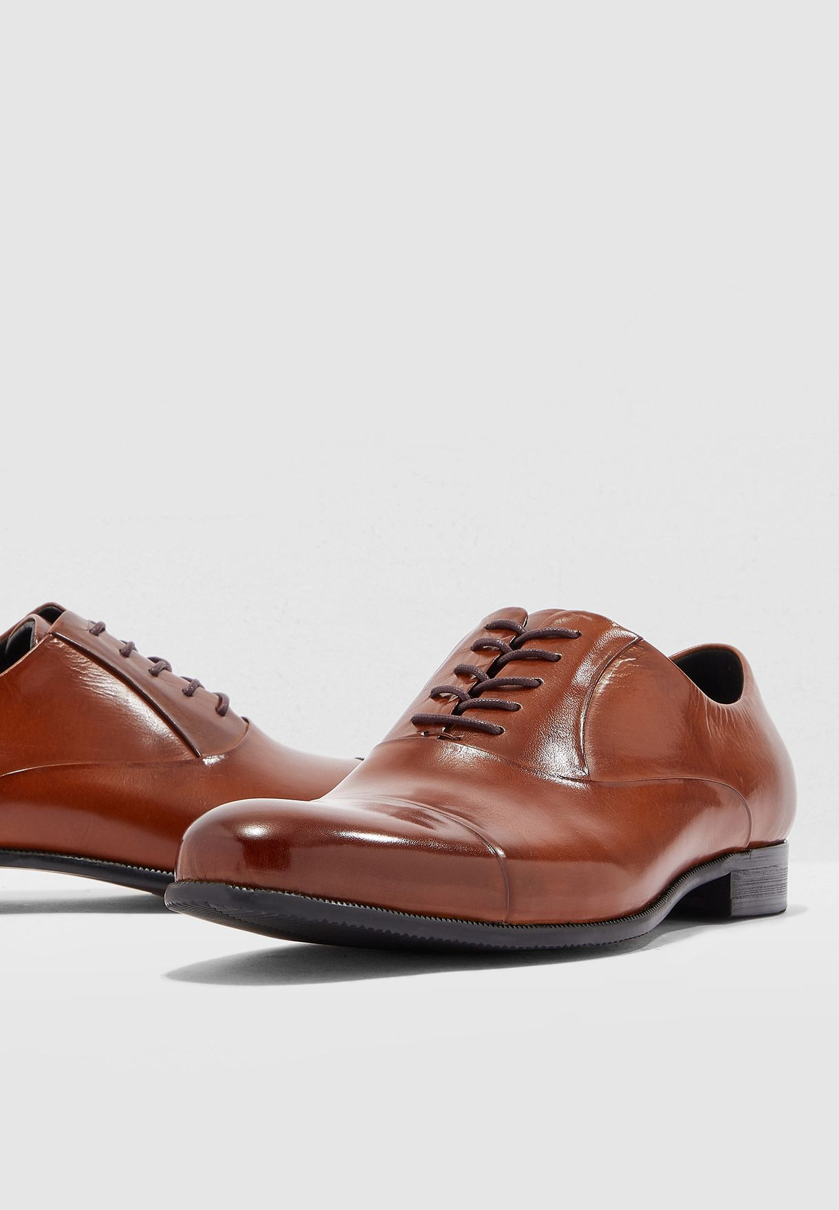 Classic Leather Lace Ups