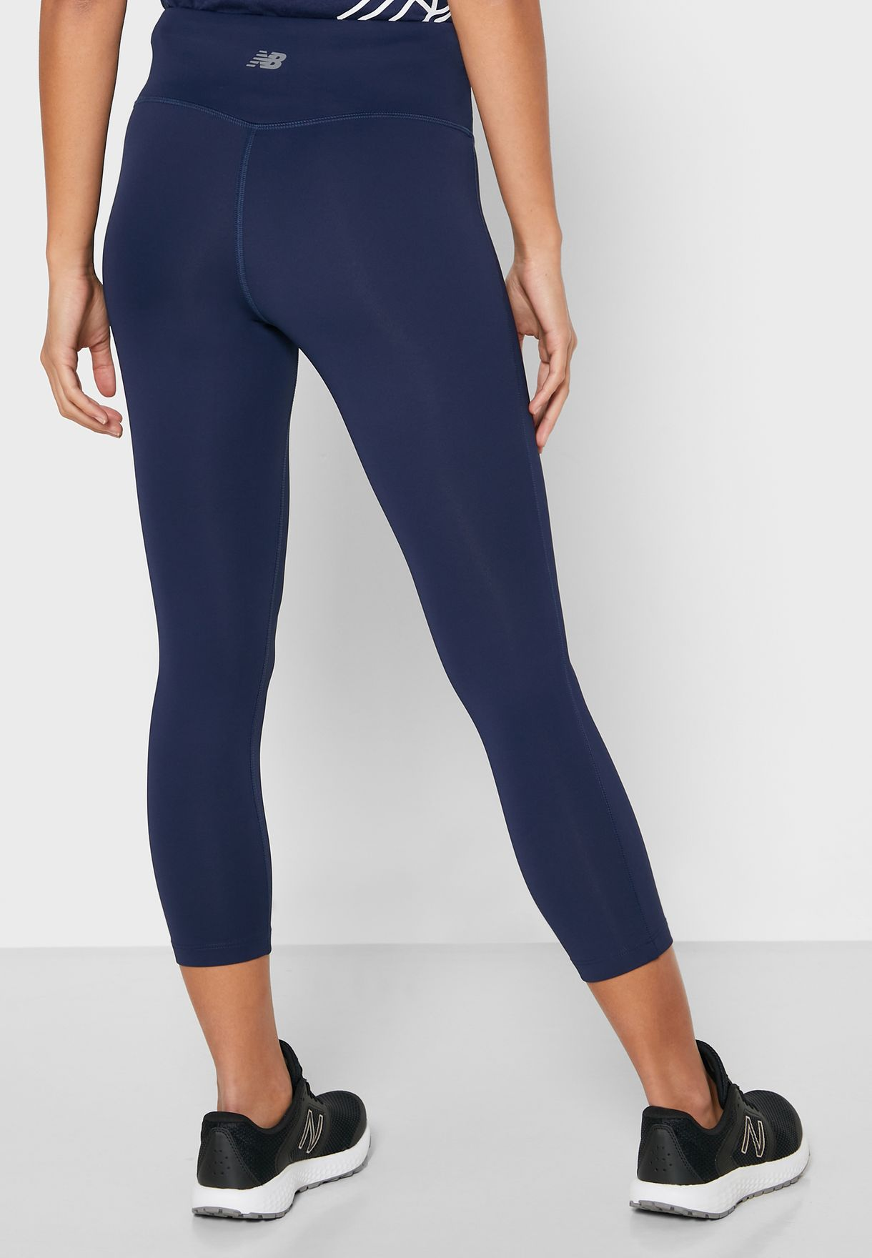 Core High Rise Cropped Tights