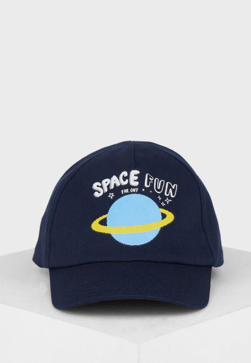 Kids Space Fun Cap
