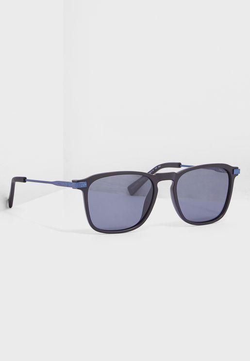 e56680017b N3636SP Modified Rectangle Sunglasses