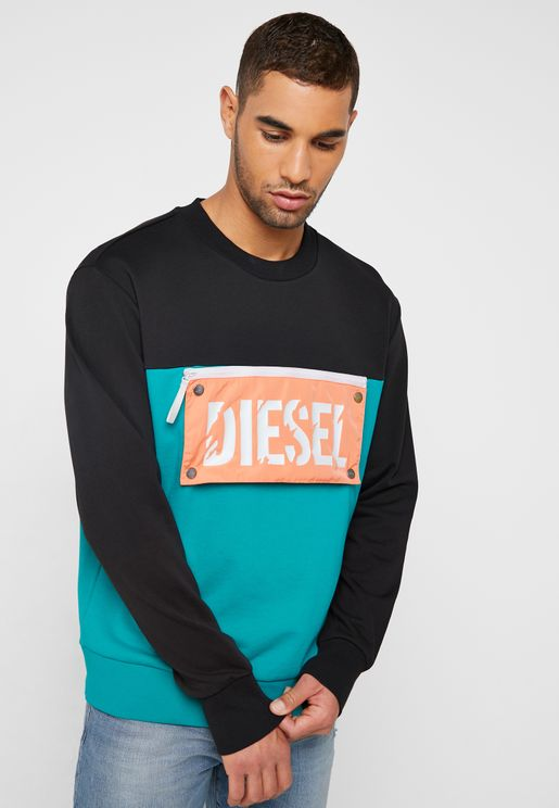 Baysea Colour Block Sweatshirt