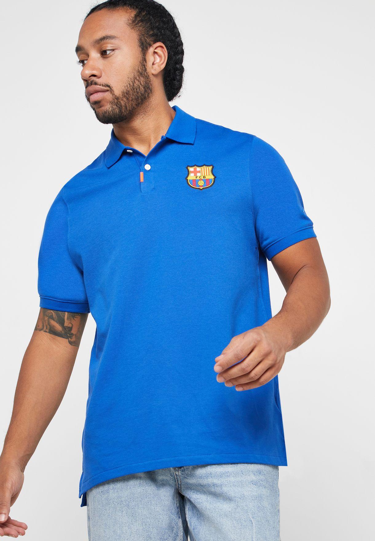 بولو بشعار برشلونة لكرة القدم
