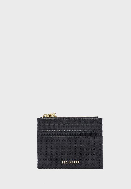 Bebeea Bee Charm Zip Top Card Holder