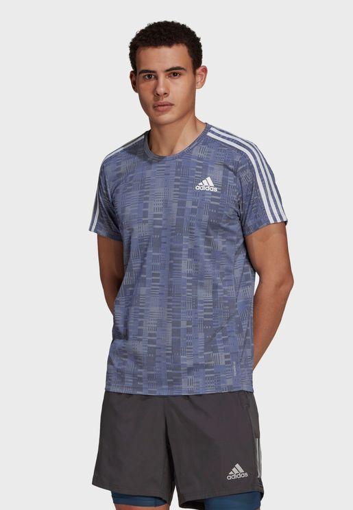 Own The Run Primeblue T-Shirt