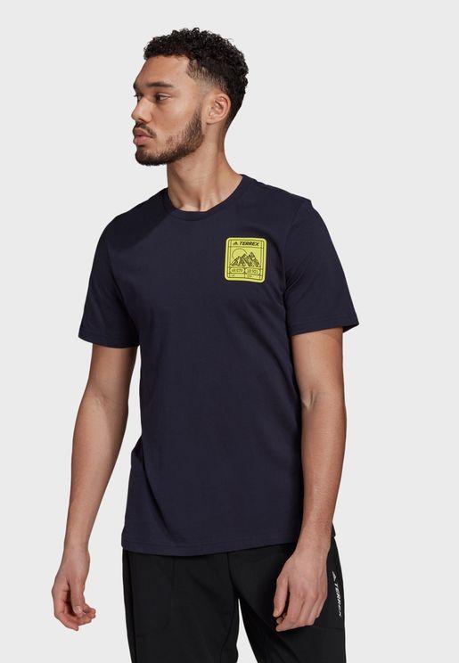 Terrex Patch Mountain Graphic T-Shirt