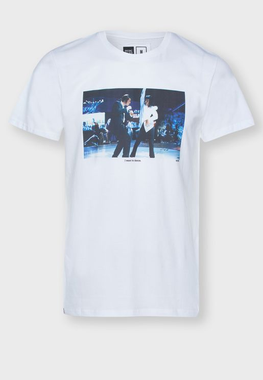 I Want To Dance Crew Neck T-Shirt