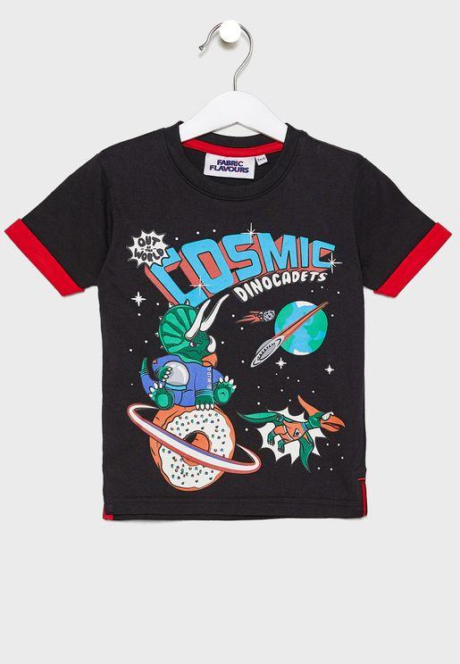 Kids Cosmic Graphic T-Shirt