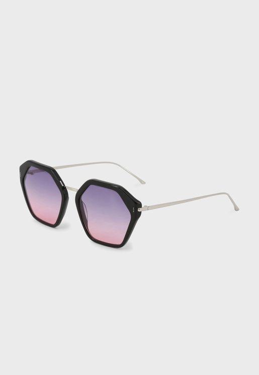 نظارة شمسية سداسية الشكل