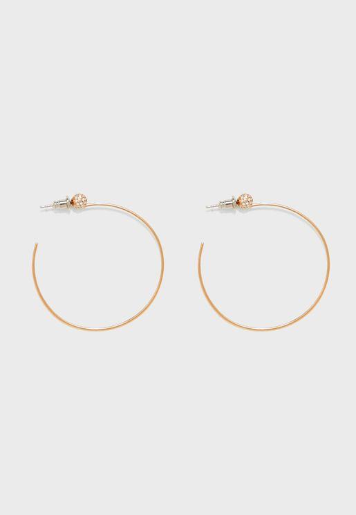 JOF00581791 Hoop Earrings