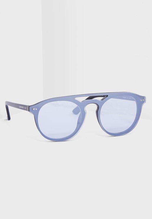 نظارة شمسية  دائرية بجسر علوي