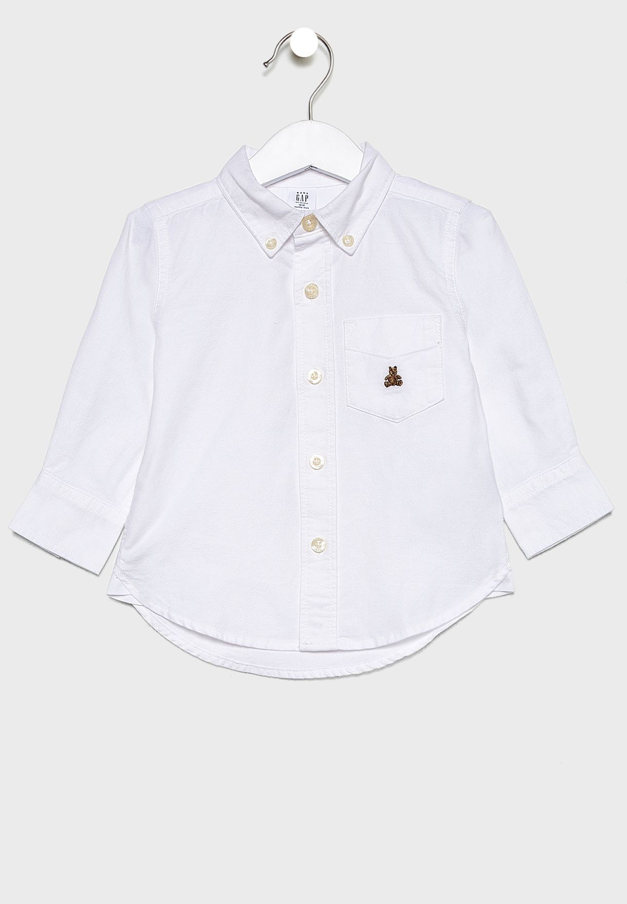Kids Button Down Oxford Shirt
