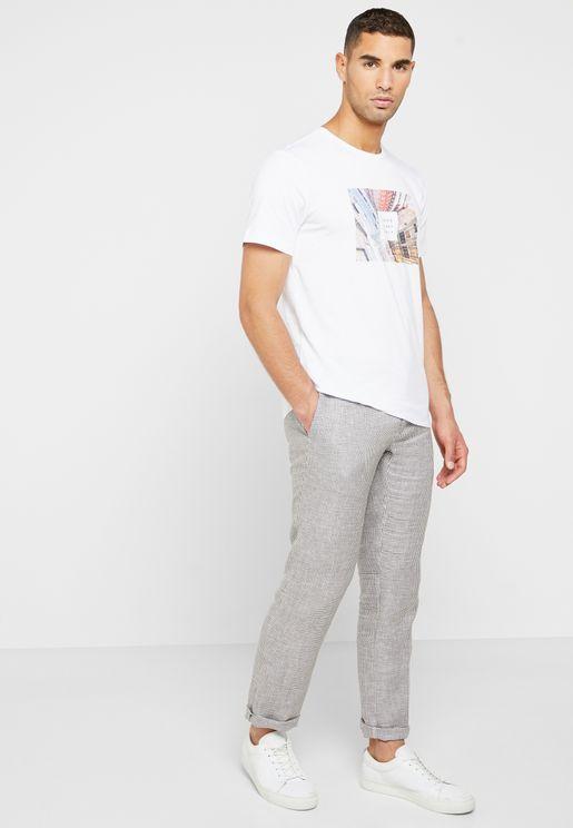 William Slim Fit Trousers
