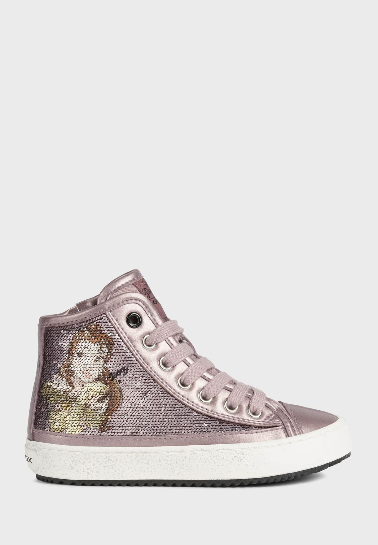 Kids Kalispera Lace Up High Top Sneaker