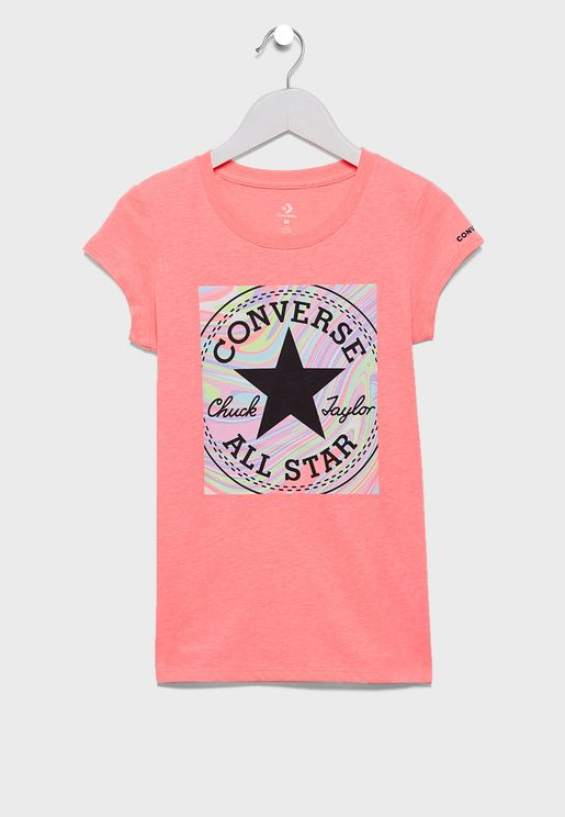 Youth Chuck Patch Marle Box T-Shirt