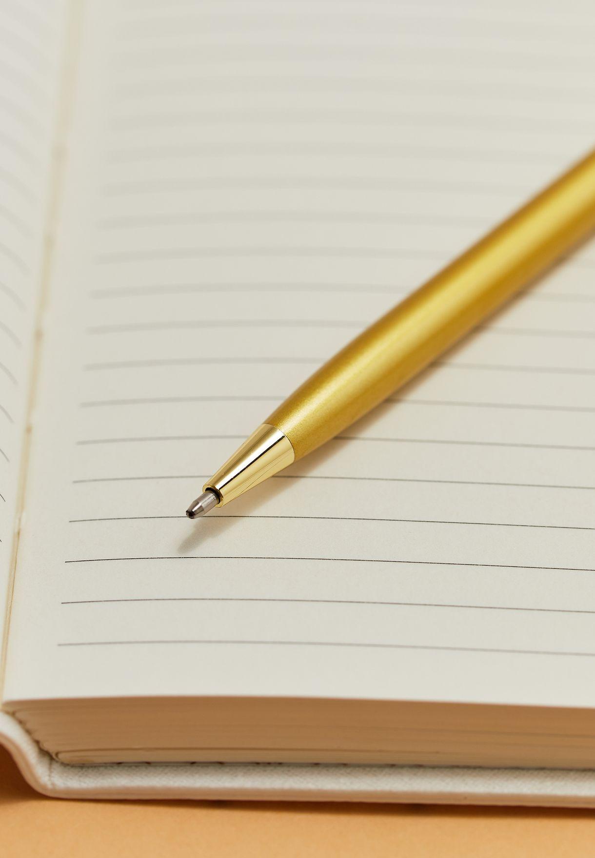 دفتر ملاحظات بطبعة حرف L